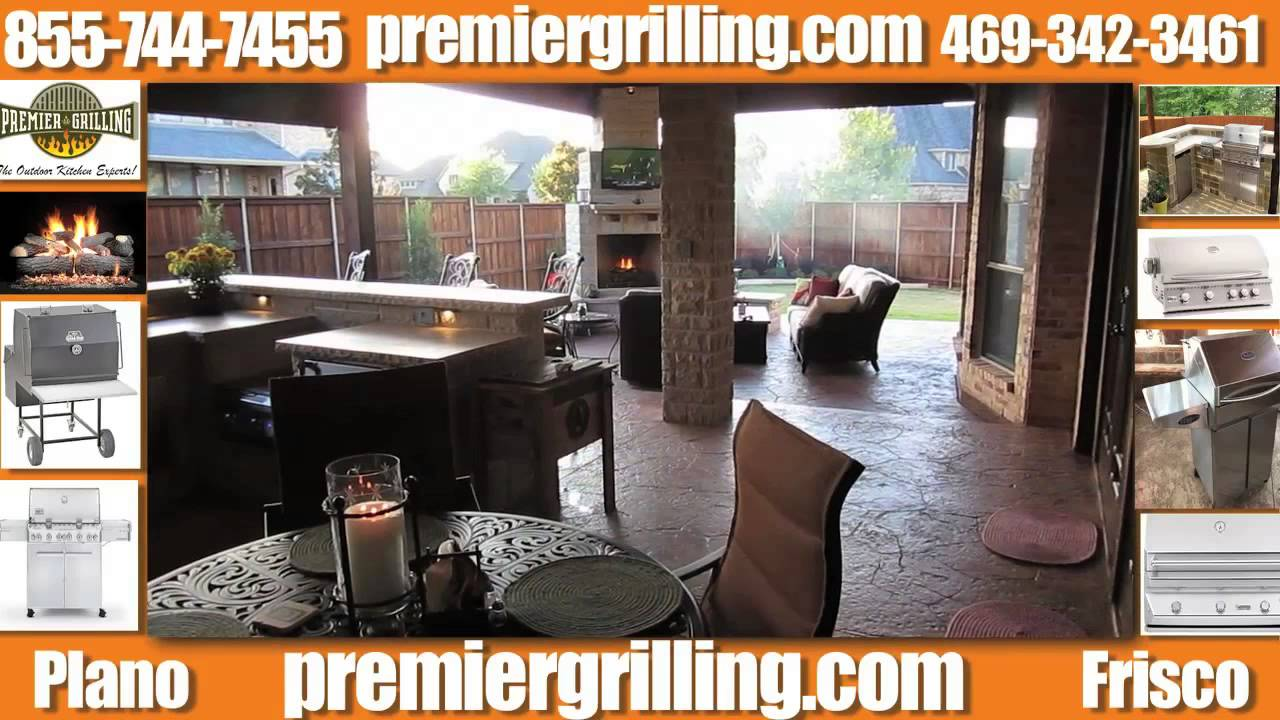 Premier Grilling Outdoor Kitchen Design Company Frisco, Tx