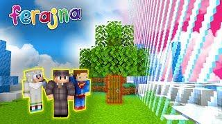 UKRYTA BAZA NA GRANICY FERAJNY! | Minecraft FERAJNA!