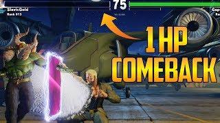 SFV S2.5 ▰ Epic Street Fighter V Comebacks Volume 19