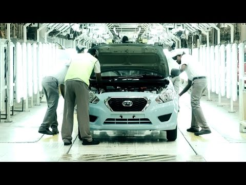 Datsun GO Production at Chennai Plant