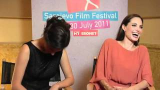 Angelina Jolie and Zana Marjanovic Interview 07.30.11