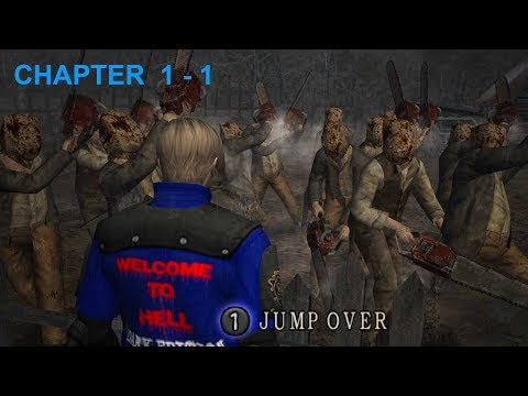 "Resident Evil 4 - Story (Welcome To Hell - ""Dark Edition"") Mode - Chapter 1-1 (New Game - Pro) HQ"