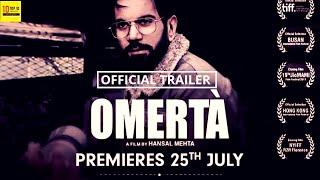 OMERTA   Official Trailer   A ZEE5 Originals Film   Rajkumar Rao   Streaming Now   Omerta - 25 July