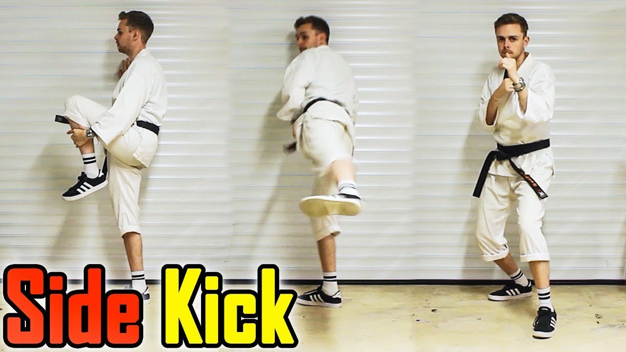 Let's Learn Karate with Chris | Episode 08 - Side Kick