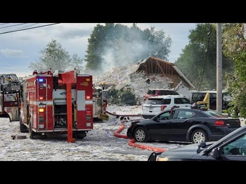 Deadly explosion in Maine