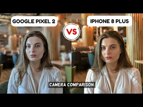 Google Pixel 2 Camera Vs iPhone 8 Plus | Camera Comparison | Camera Review | Camera Test 2017!