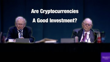Warren Buffett answers questions about cryptocurrencies, and why they will come to 'bad endings'