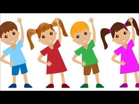 Дистанционная утренняя гимнастика, для детей 4 - 6 лет.