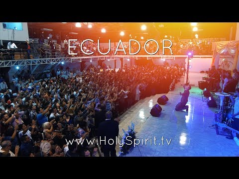 Amazing Visitation of the Holy Spirit in Guayaquil, Ecuador!