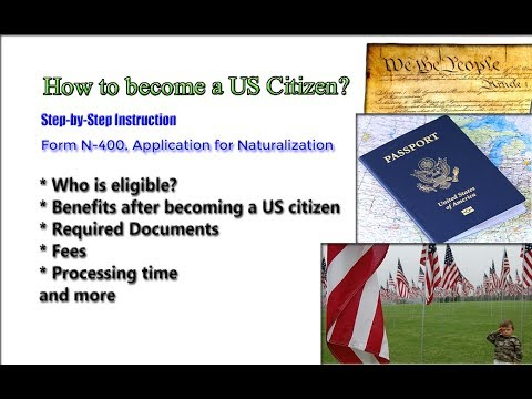 US Citizenship Guide | N-400 Application For Naturalization Steps, Fees & Processing Timeline