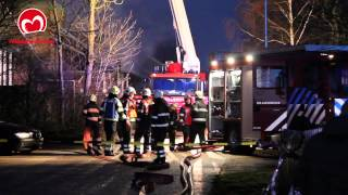 Grote brand in Molkwerum