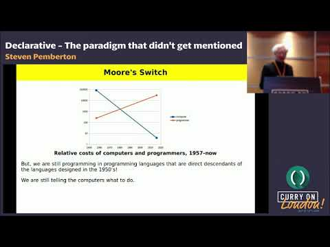 Steven Pemberton - Declarative - The paradigm that didn't get mentioned