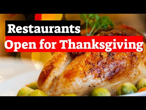 Restaurants Open Thanksgiving In Orlando