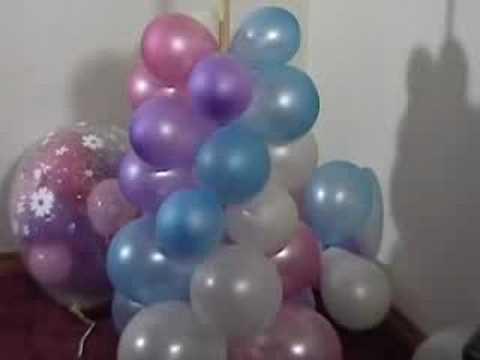 How To Make A Balloon Column YouTube