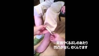ミライ☆在宅委員会 在宅薬剤師☆訪問動画~むくみ~