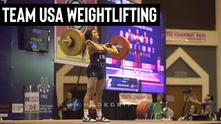 Lauren Fisher - 80kg Snatch and 108kg Clean and Jerk at 2014 University Worlds