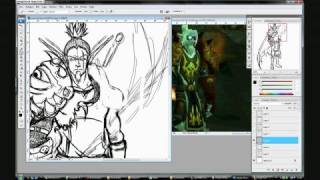 How to Draw Your Own WoW Char 1