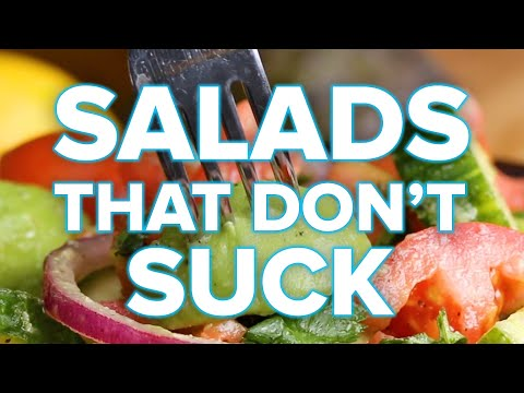 Satisfying Salads That Don't Suck