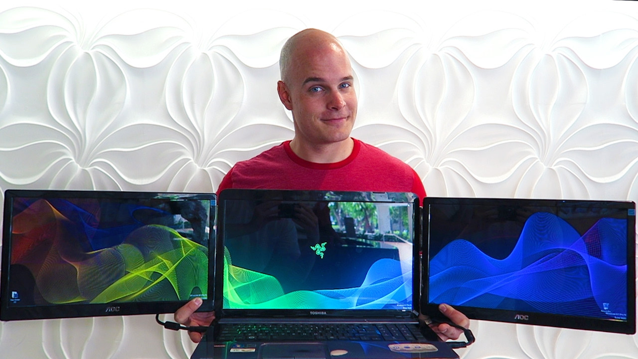 DIY Project Valerie: BUILD YOUR OWN 3 Screen Laptop!!
