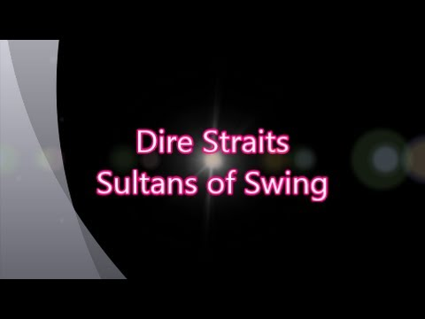 Dire Straits-Sultans of Swing (with lyrics)