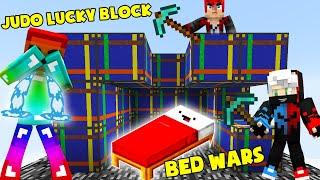 MINI GAME : JUDO LUCKY BLOCK BEDWARS ** ĐẠI CHIẾN NOOB TEAM VÀ CÁI KẾT MAX ĐEN CHO NOOB ??