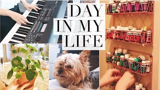 PULLING MY LIFE TOGETHER! Cleaning, cooking & singing!