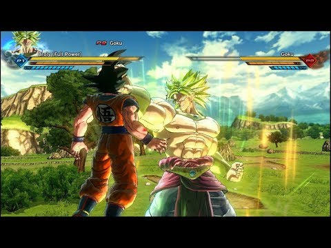 #2 Goku Vs Broly ( Dragon Ball Z: The Legendary Super Saiyan Reborn ) -DBXV2