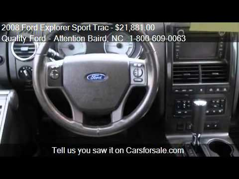 2008 Ford Explorer Sport Trac Limited 46L V8 4WD  for sale  YouTube