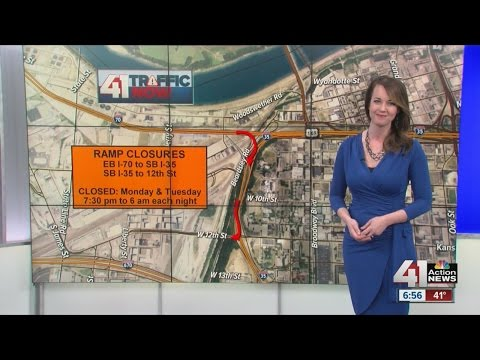 Two overnight ramp closures on downtown loop