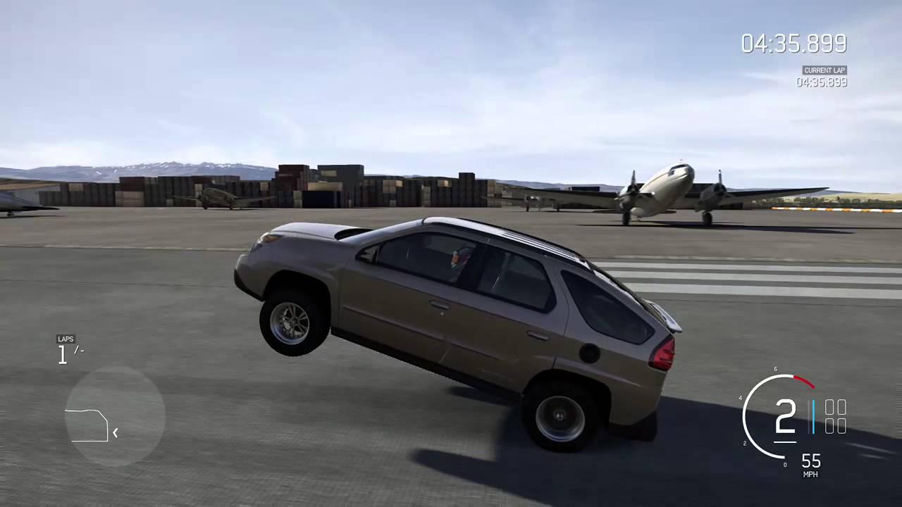 Forza Motorsport 6 - pontiac aztec massive standing wheelie & Forza Motorsport 6 - pontiac aztec massive standing wheelie - YouTube