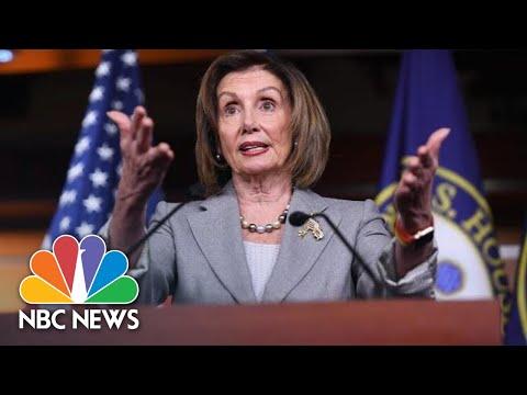 Pelosi On Impeachment Votes: &39;We Are Not Whipping This Legislation&39;  NBC News