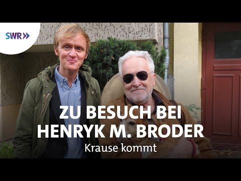 Zu Besuch bei Henryk M. Broder | Krause kommt