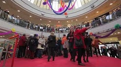 Flashmob im Rotmain-Center Bayreuth
