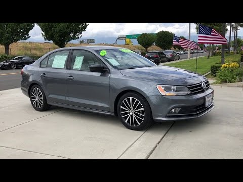 2016 Volkswagen Jetta Sedan Ontario, Claremont, Montclair, San Bernardino, Victorville, CA PW8955