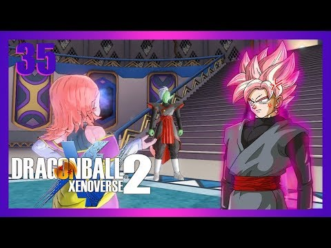 """""""SCREW THE RULES, I HAVE PINK HAIR!"""" Rosé Goku Black Plays Dragon Ball Xenoverse 2: Part 35"""