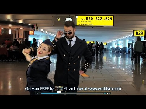 WorldSIM TV Ad - Get your free travel SIM card to reduce roaming charges