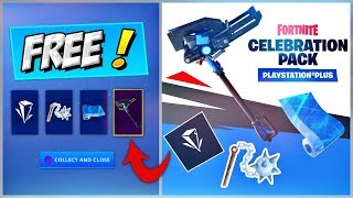 HOW TO GET FREE CELEBRATION PACK 7 | FORTNITE PS4 PS PLUS SKIN BUNDLE PLAYSTATION RELEASE DATE