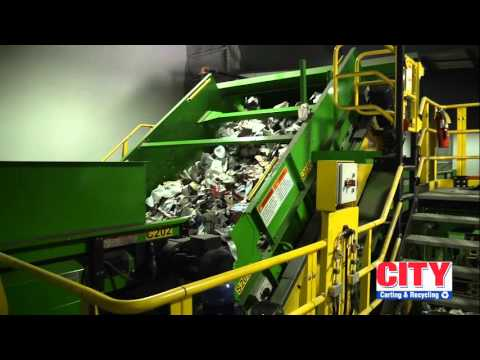 City Carting & Recycling | Single Stream Recycling Center