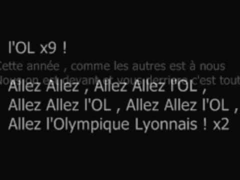 Hymne Lyonnais (Paroles)