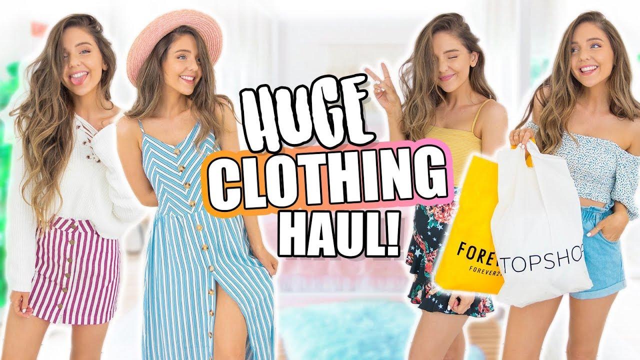 HUGE Try-On Haul 2018! Forever 21, H&M, Zara + MORE!