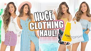 HUGE Try-On Haul 2018! Forever 21, H&M, Zara + MORE!