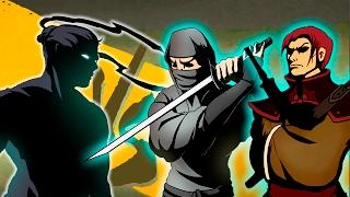 Победил ВСЕХ телохранителей РЫСИ Игровой мультфильм для детей про бои с тенью Shadow Fight 2
