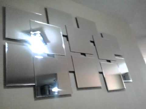 Espejos modernos decorativos youtube for Espejos decorativos de pared