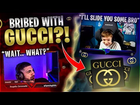 FaZe H1ghSky1 Tries To BRIBE Me With GUCCI?! ( Friday Fortnite )