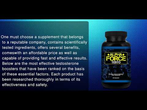 Alpha Force Testo Review || Complete Review [ Latest 2017 ]