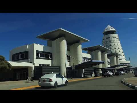 Approaching Harare International Airport