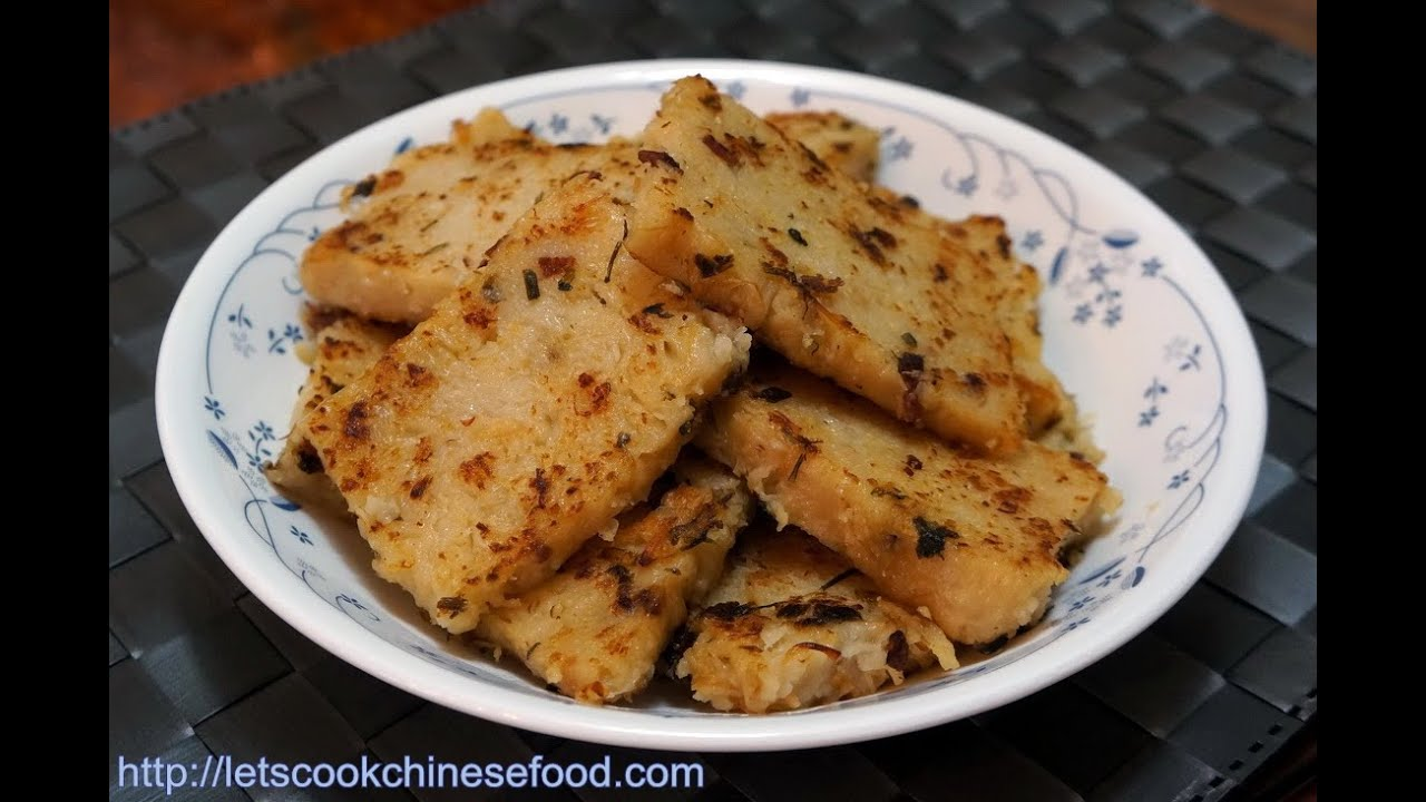 Radish Cake Recipe Youtube