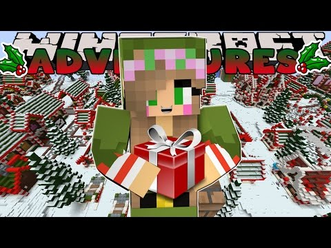 Minecraft-Little Kelly Adventures- TRIP TO THE NORTH POLE!