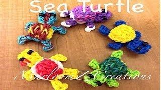 Rainbow Loom Turtle: 3D Shell: Charm Tortuga
