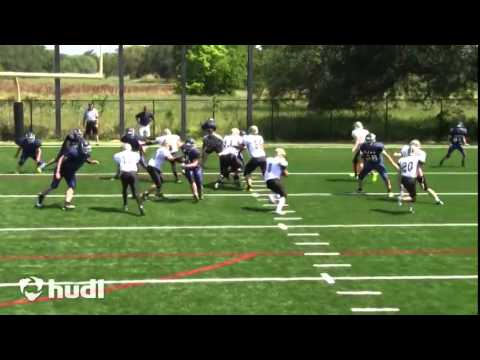 John Burke 2014 Senior Offensive Line Highlights